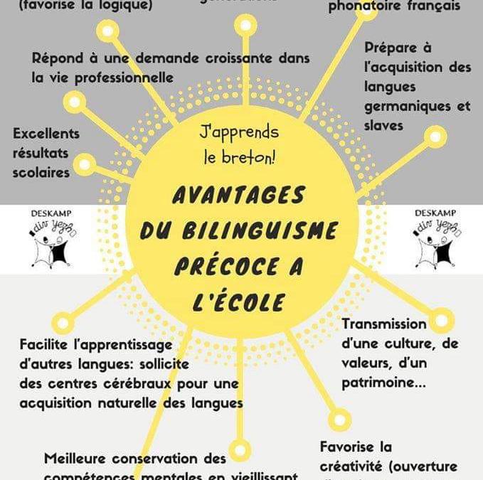 La filière bilingue français/breton proposée par notre école