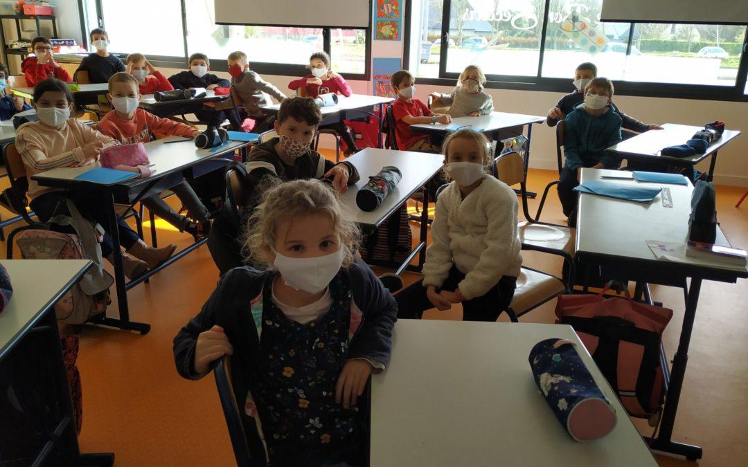La municipalité offre des masques
