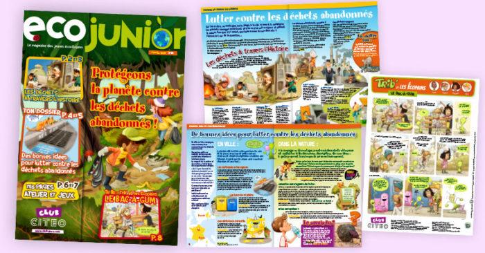 Eco Junior, le magazine des jeunes écocitoyens !