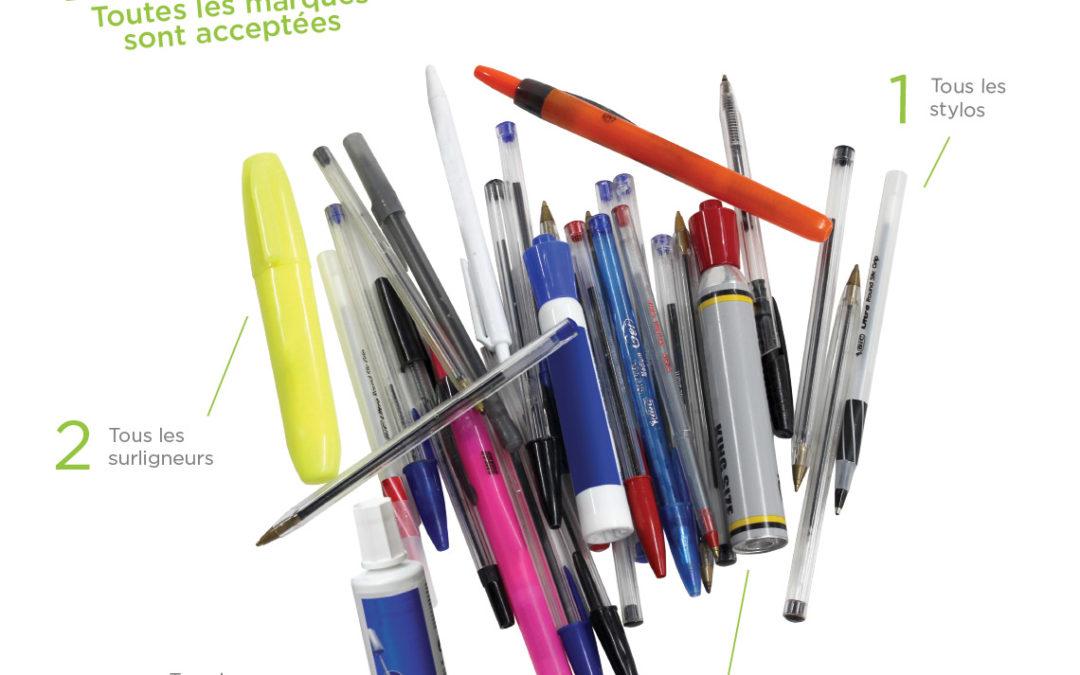 Les crayons se recyclent